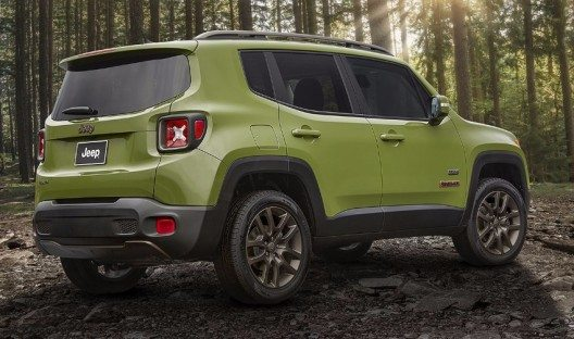 Jeep Renegade Dawn of Justice Limited Edition