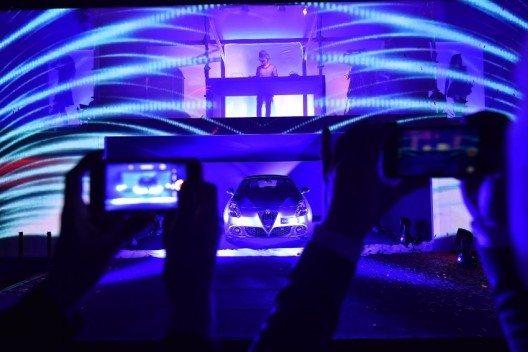 Im Rahmen der Premiere besuchten die Gäste ausserdem das benachbarte Arese Motor Village.
