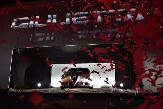 Alfa Romeo Giulietta wird mit neuen Karosseriedetails noch sportlicher.