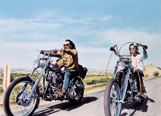"""Einer der Roadmovies schlechthin ist der Kultfilm """"Easy Rider"""" aus dem Jahr 1969 (Bild: © Sony Pictures Home Entertainment)"""