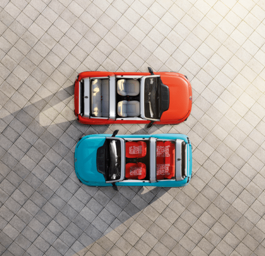Der Citroën E-Méhari weckt die Erinnerung an den legendären Citroën Méhari.