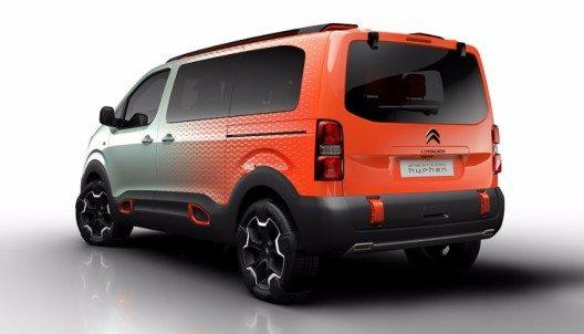 Das Concept Car Citroën SpaceTourer Hyphen.