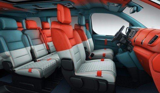 """Das Concept Car Citroën SpaceTourer Hyphen wirkt wie ein """"Verstärker"""" der Serienversion."""