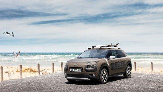 Das Sondermodell Citroën C4 Cactus Rip Curl verspricht frischen Wind, Freiheit und Abenteuer.
