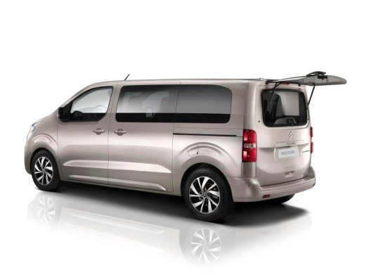 Der neue, trendige Van Citroën SpaceTourer steht für Komfort, praktischen Nutzen und Design.