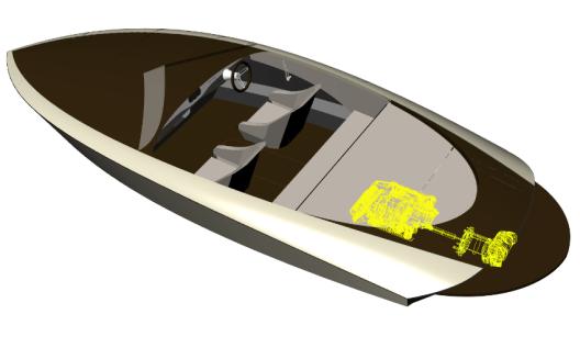 Das Jetboot K-600 mit innovativem Torqeedo Deep Blue-Elektroantrieb (Bild: Kaiser Bootsmanufaktur)