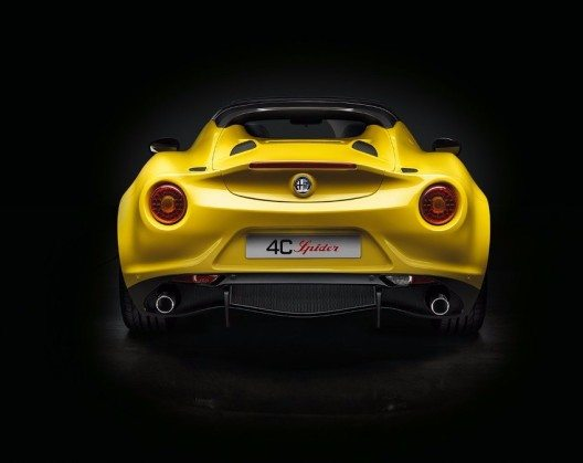 Alfa Romeo 4C Spider (Bild: © Fiat Chrysler Automobiles)