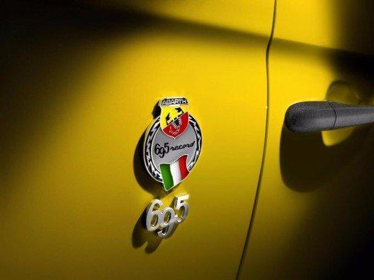 Abarth 695 Biposto Record (Bild: © Abarth, Fiat Chrysler Automobiles)