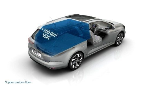 Der neue Renault Megane Grandtour (Bild: © Renault Communications / Rights reserved)