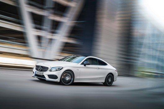 Mercedes-AMG C 43 Coupé, Exterieur: Diamantweiss (© obs/Mercedes-Benz Schweiz AG, Daimler AG - Global Com.)