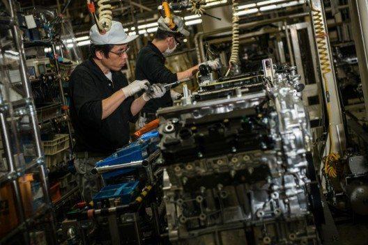 Produktion des neuen V6 Motors für Infiniti. (Bild: © INFINITI EUROPE)