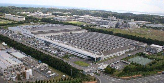 Die Iwaki Motorenfabrik. (Bild: © INFINITI EUROPE)