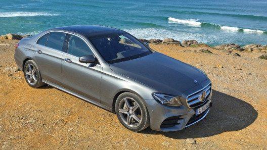 Die Mercedes-Benz E-Klasse 2017 bietet Technik auf höchstem Niveau. (Bild: www.die-autotester.com)