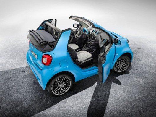 limitiertes Sondermodell smart fortwo cabrio BRABUS edition (Bild: © obs/Mercedes-Benz Schweiz AG/Daimler AG - Global Com.)