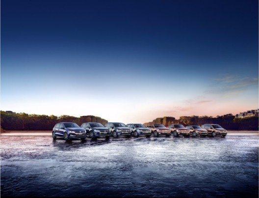 Die Allstar-Modelle (Bild: © VW Press)