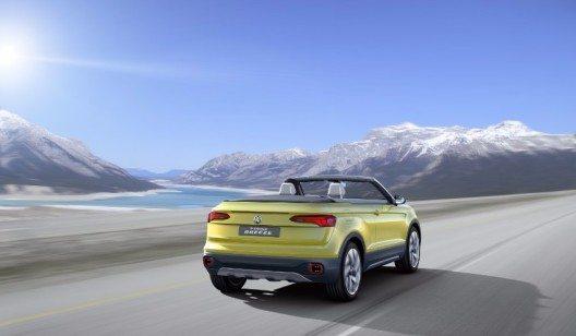 Der T-Cross Breeze (Bild: © VW Press)