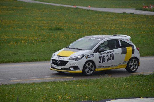 OPC Challenge 2016 - Fabio Gubitosi. (Bild: General Motors Suisse SA)