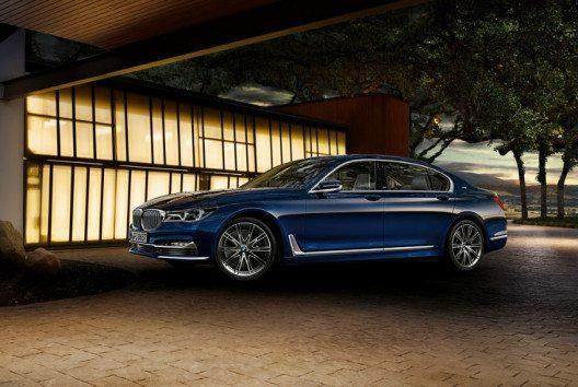 Das BMW 7er Jubiläumsmodell wird in einer limitierten Auflage produziert. (Bild: BMW Group)