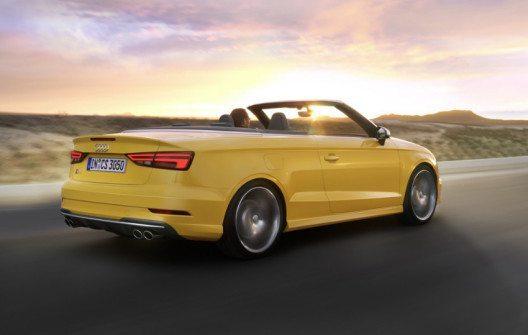 Der neue Audi S3 – Cabriolet. (Bild: AMAG)