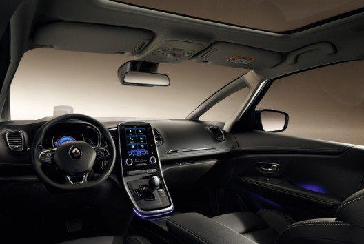 Der neue Grand SCENIC bietet mehr Komfort, Design und Sicherheit denn je. (Bild: Renault Communications)