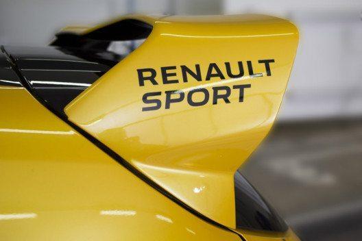 Der Prototyp wurde zur Feier von 40 Jahren Renault Sport präsentiert. (Bild: Renault Communications)