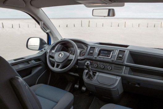 Der neue Multivan Freestyle – Cockpit. (Bild: Volkswagen Nutzfahrzeuge)