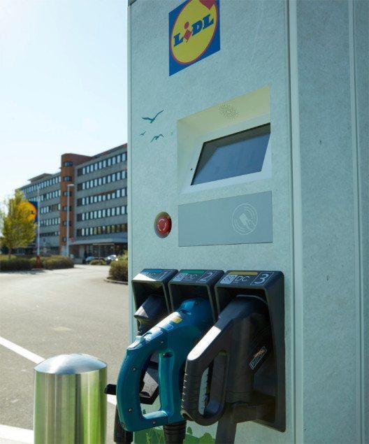 Lidl Schweiz investiert in Elektromobilität. (Bild: Lidl Schweiz)