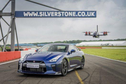 Die GT-R Drohne – die schnellste Drohne der Welt. (Bild: Nissan Schweiz)