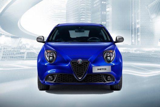 Der neue Alfa Romeo Mito – Frontansicht (Bild: Fiat Chrysler Automobiles)