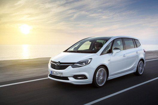 Der Opel Zafira steht für eine einzigartige Kombination aus Vielseitigkeit und Komfort. (Bild: General Motors Suisse SA)
