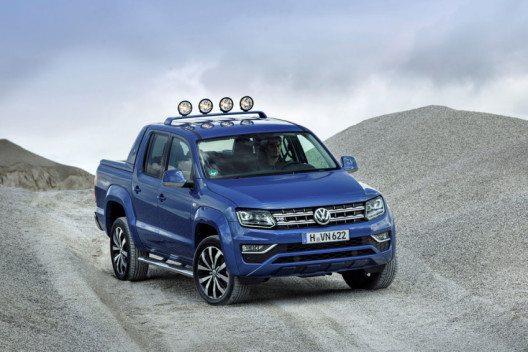 50 Prozent aller Teilnehmer bewerten den Amarok als besten Pickup. (Bild: Volkswagen Nutzfahrzeuge / Volkswagen Aktiengesellschaft)