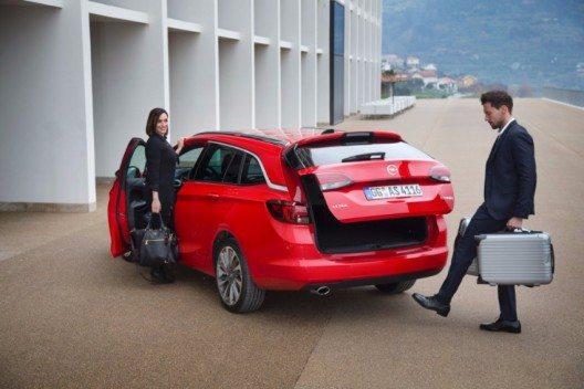 Opel Astra im Business (Bild: © GM Suisse SA)