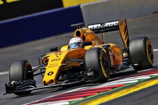 Pech beim Formel 1-Grand Prix in Silverstone – Renault Sport F1 schied zweimal vorzeitig aus. (Bild: © Renault Communications)