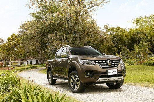 Renault Alaskan Pick-up - 2,3-Liter-dCi-Dieselmotor (Bild: © Renault Communications)