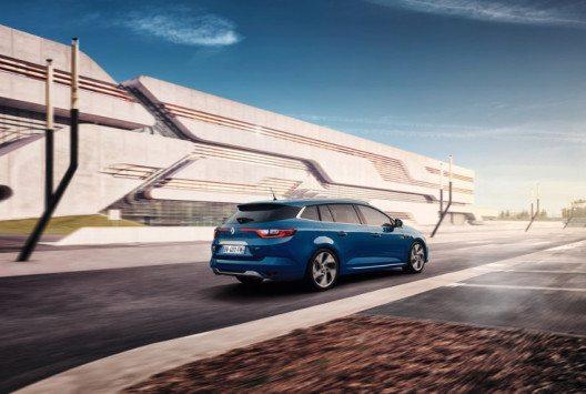 Das Kofferraumvolumen im Neuen Megane Grandtour erreicht 521 dm3. (Bild: Renault Communications)