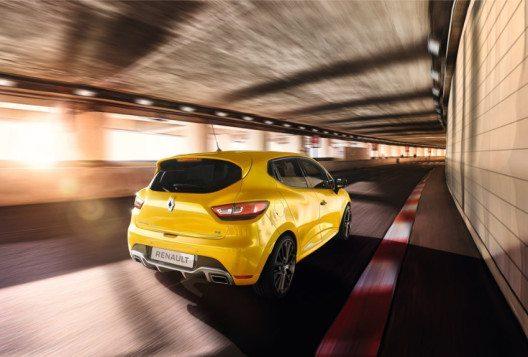 Der neue Clio R.S. bietet das komplette Spektrum von Renault Sport Technologien. (Bild: Renault Communications)