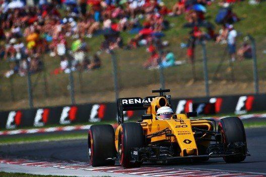 Renault Sport Formel 1-Fahrer Jolyon Palmer