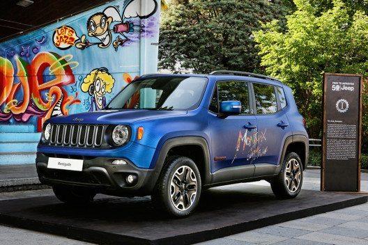 Showcar: Jeep Renegade Vinyl (Bild: © Fiat Chrysler Automobiles)
