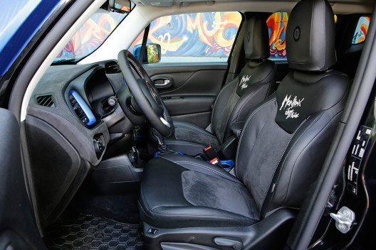 Innenausstattung: Jeep Renegade Vinyl (Bild: © Fiat Chrysler Automobiles)