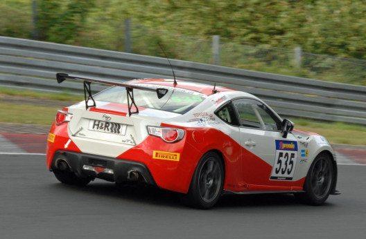 Das Toyota Swiss Racing Team feierte seinen zweiten Klassensieg im Toyota GT86 Markencup. (Bild: Toyota)
