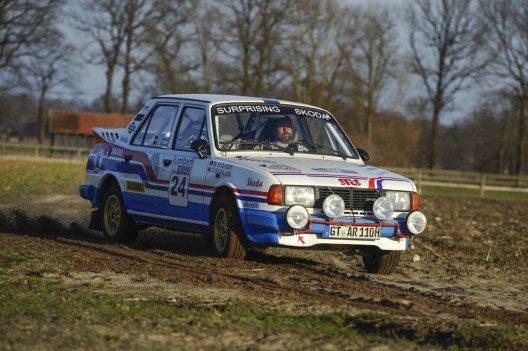 Die Nachfolge des legendären 130 RS trat 1986 der ŠKODA 130 LR an. (Bild: ŠKODA)