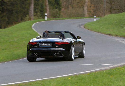 B&B Jaguar F-Type Heck offen (Bild: © B&B Automobiltechnik)