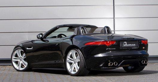 B&B Automobiltechnik wertet den Jaguar F-Type in mehreren Leistungsstufen spürbar auf. (Bild: © B&B Automobiltechnik)