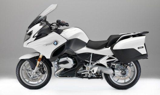 BMW R 1200 RT Alpinweiss 3 uni (Bild: BMW Group)
