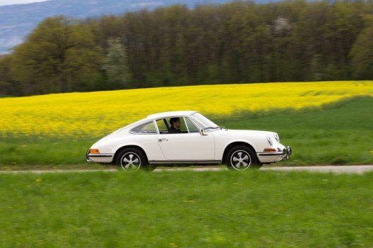 Der Sieger: 911 S 2.0 in hellelfenbein aus dem Jahr 1969 des Porsche Zentrum Genf (Bild: Porsche Schweiz)