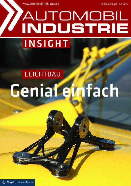 Titelseite - Automobil Industrie Insight (Bild: © Vogel Business Media )