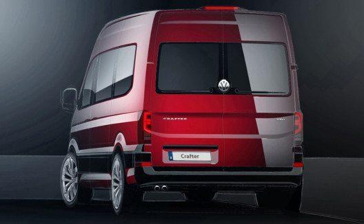 Im Herbst kommt der neue Crafter von Volkswagen in den Handel. (Bild: AMAG Automobil- und Motoren AG)