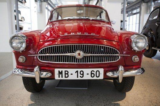 Skoda Auto Museum in Mlada Boleslav. (Bild: © Radoslaw Maciejewski - shutterstock.com)