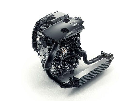 INFINITI präsentiert erstmals einen Motor mit variabler Verdichtung – den VC-T. (Bild: © Infiniti)