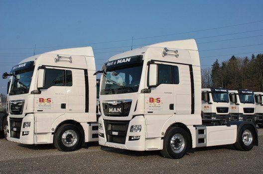 Seit zehn Jahren ist BFS mit Vermietung von Nutzfahrzeugen erfolgreich am Schweizer Markt. (Bild: © BFS Business Fleet)